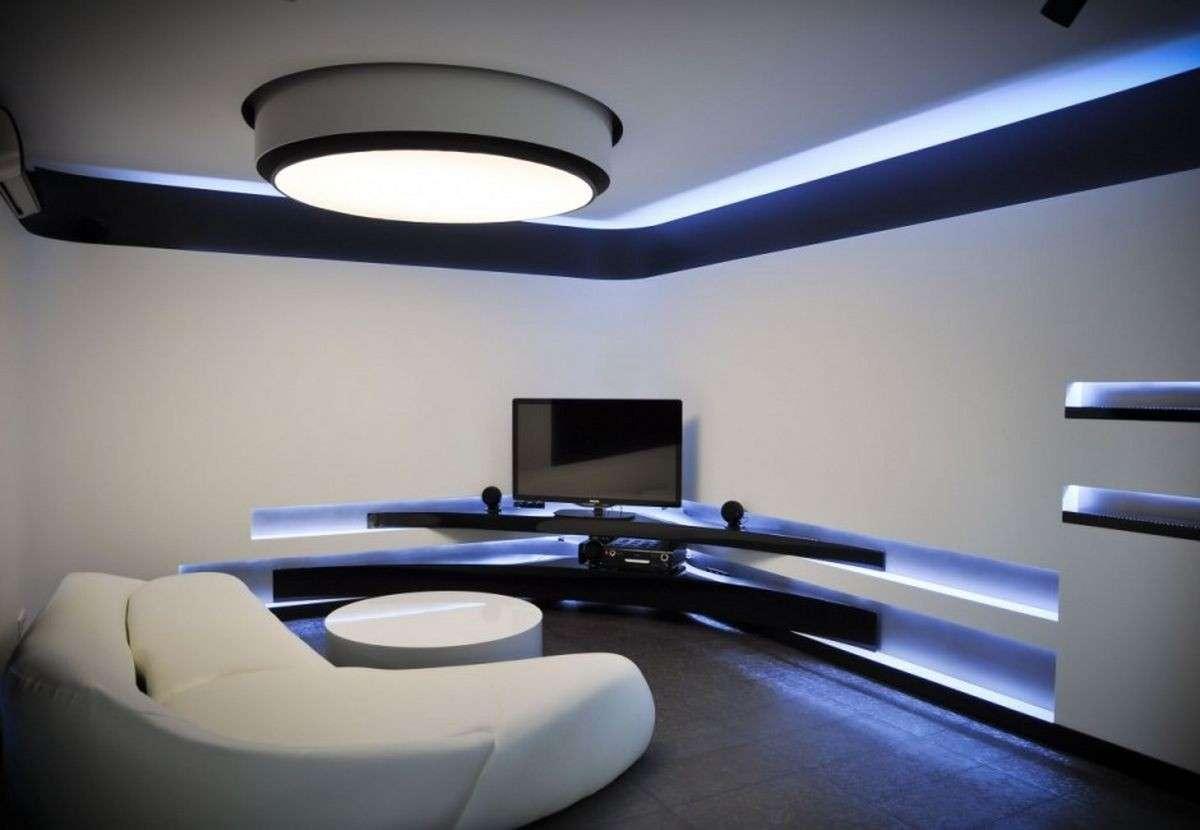 Come illuminare il soggiorno - Arredamenti Maggioni